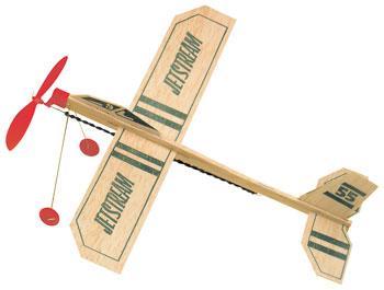 Jetstream balsa airplane photo